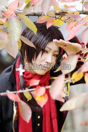 cosplay young japanese girl at mamugame