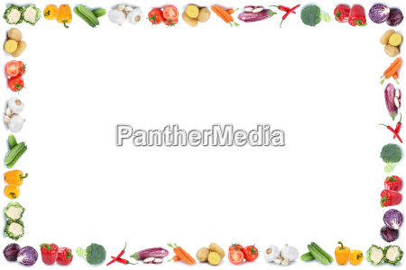 vegetable text free copy space frame
