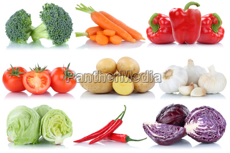 vegetables tomatoes potatoes carrots peppers salad