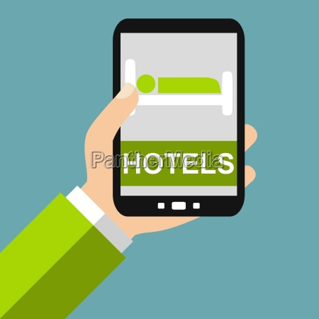 find hotels by smartphone