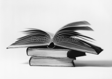 open book bw