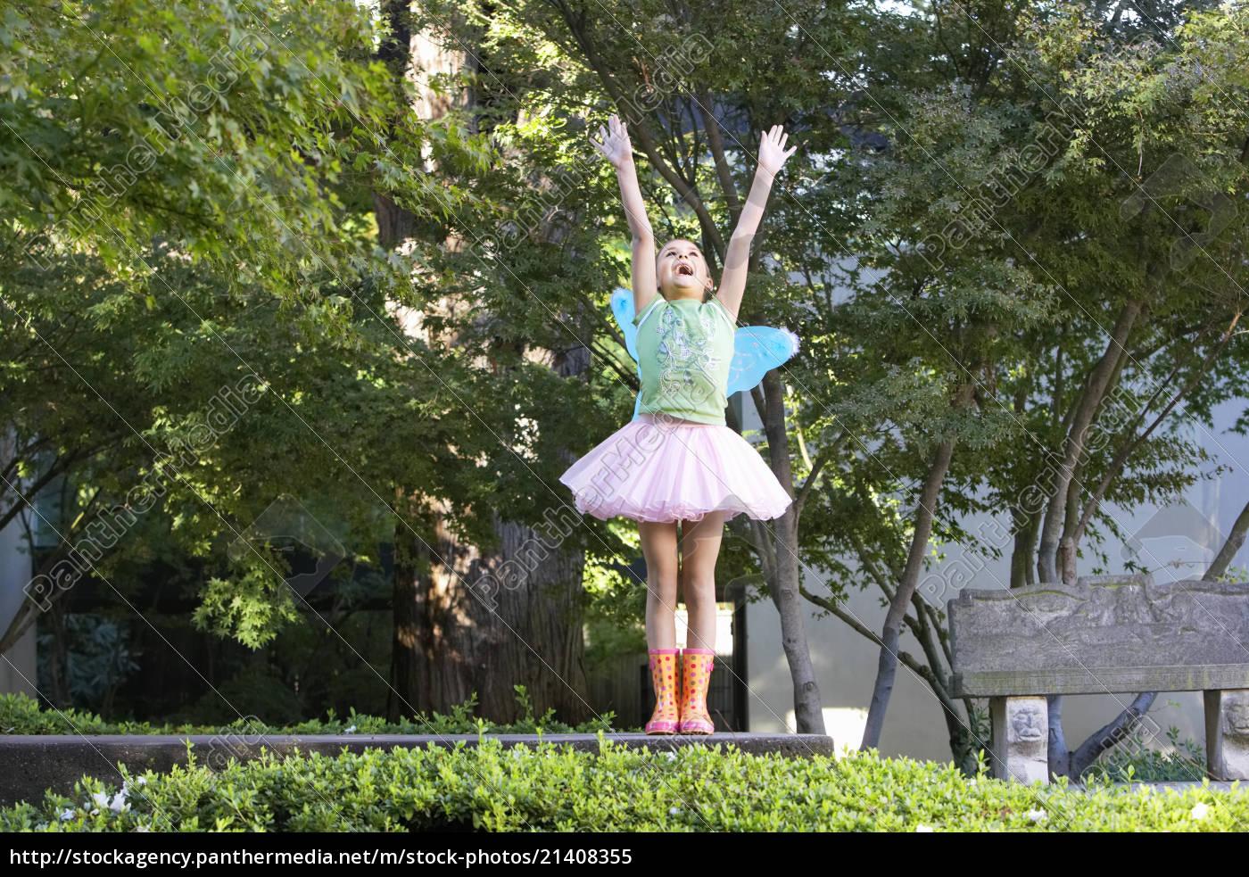 teenage, girl, with, fairy, wings - 21408355