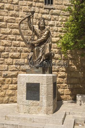 king david monument jerusalem