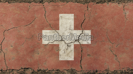 old grunge vintage faded swiss confederation