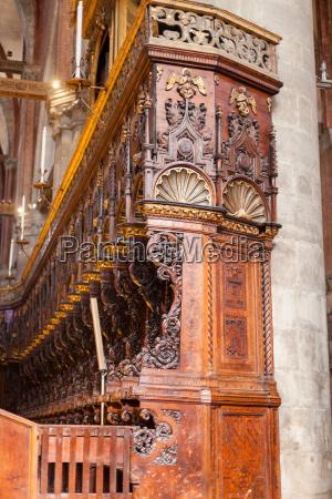 choir stalls in santa maria gloriosa