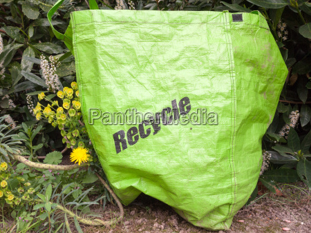 an eco friendly recycle green long