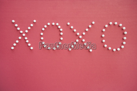 close up of push pins in