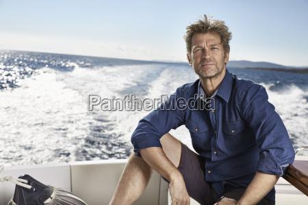 portrait of mature man on his