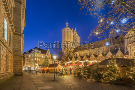 germany braunschweig christmas market in the