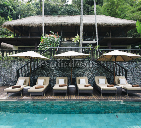 indonesia bali tropical swimming pool