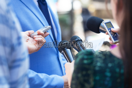 press interview news conference