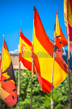spanish national official flags patriotic symbol