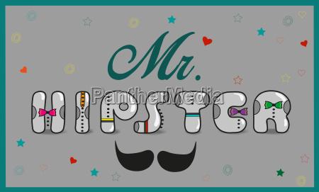 mr hipster vintage font