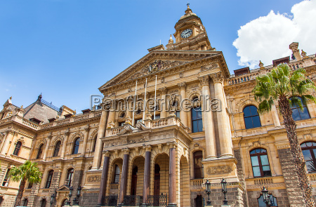 city hall in cape town south