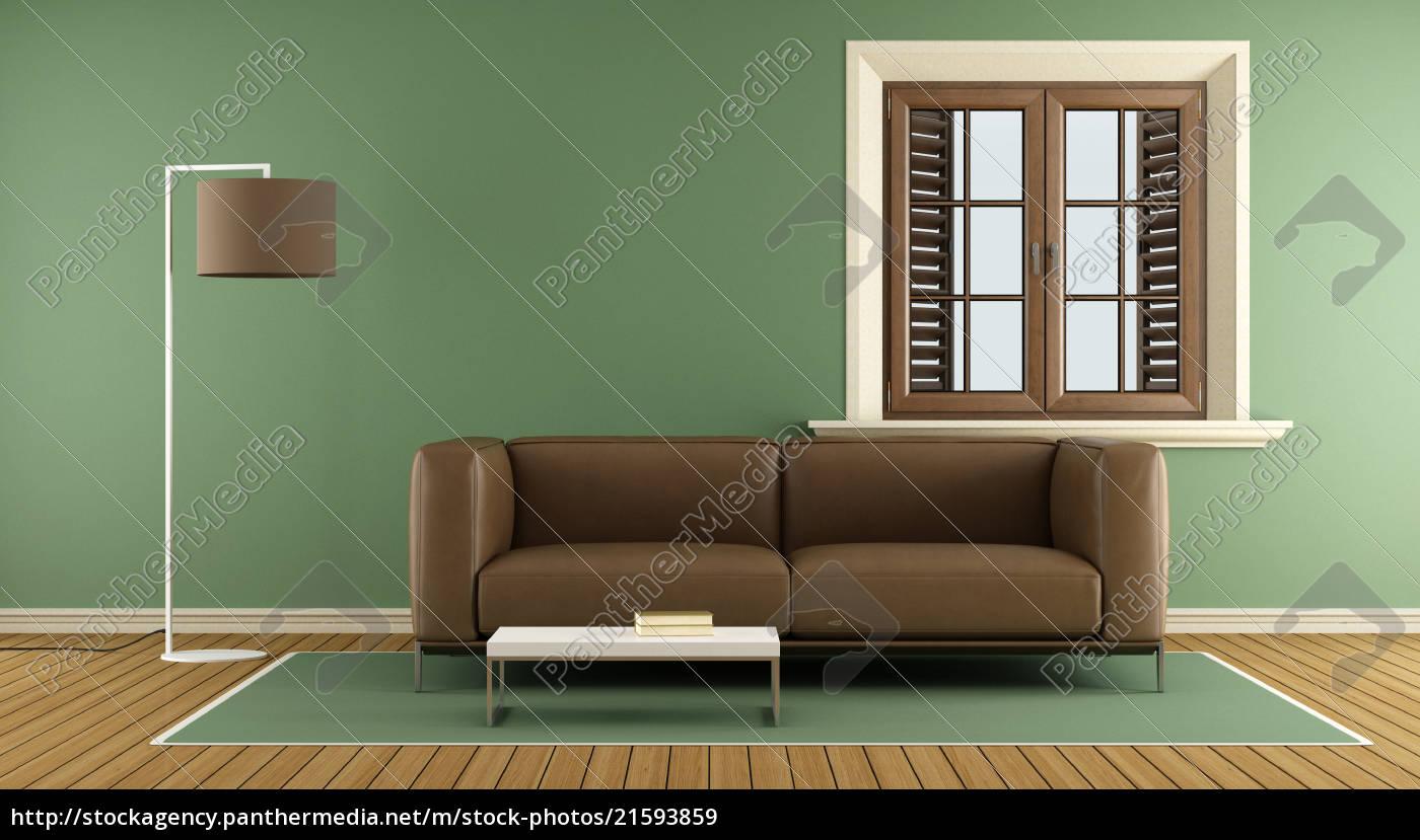 Royalty free image 21593859 - Modern green living room