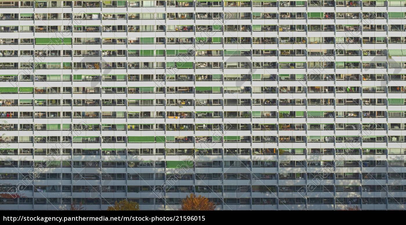 full, frame, shot, of, residential, building, - 21596015