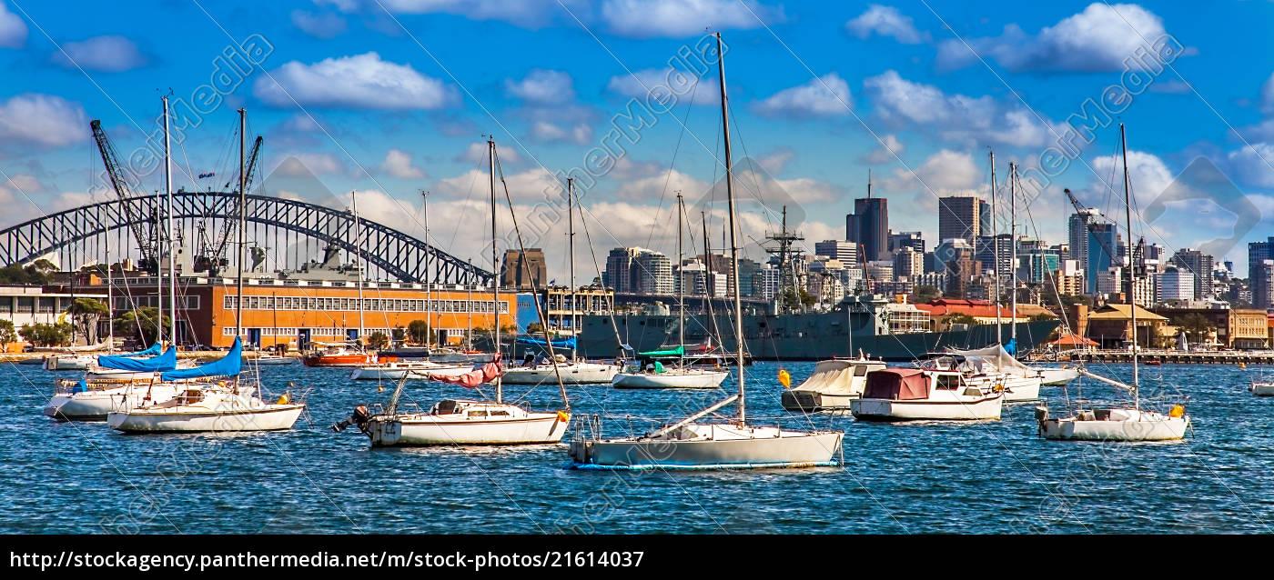 sydney, skyline, new, south, wales, australia - 21614037