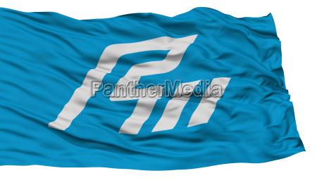 isolated ishikawa japan prefecture flag