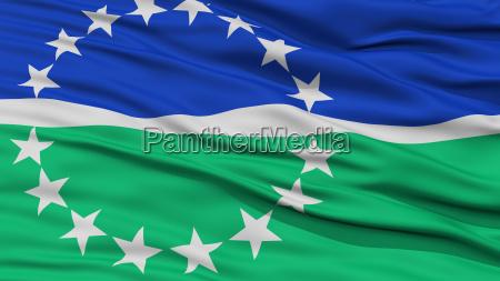 closeup of hampton roads city flag