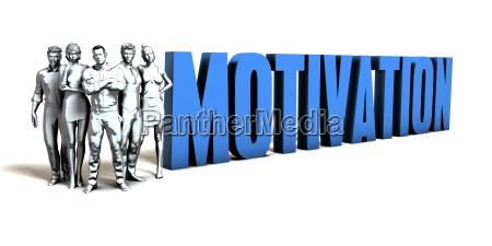 motivation business concept