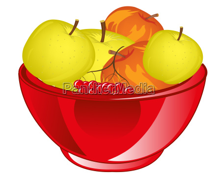 red apple chalice