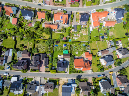settlement with single family homes