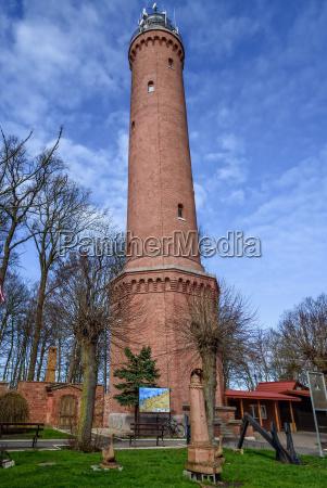 lighthouse gaski west pomerania architecture baltic