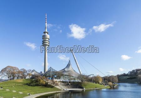 tower of stadium of the olympiapark