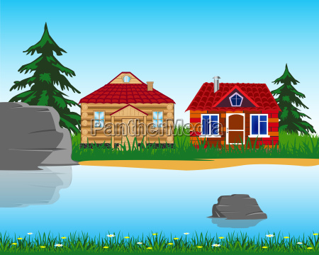 village ashore lake