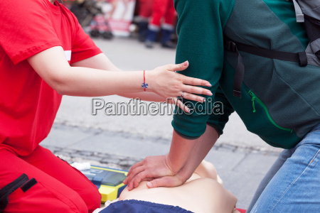 first aid training cpr