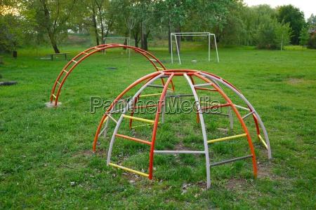 monkey bars on a playground