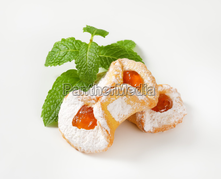 apricot jam filled cookies