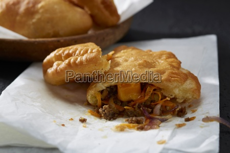 piroshki small pasties with mince filling