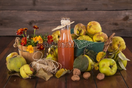 still life with quinces quince juice