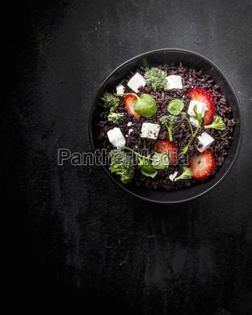 black rice black food black rice
