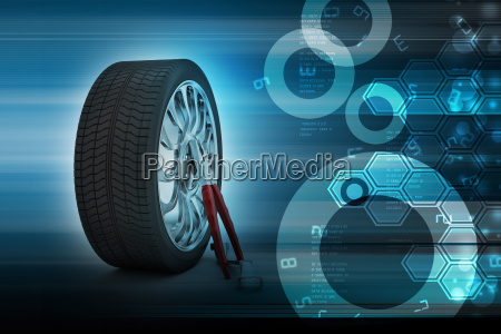 3d tires replacement concept