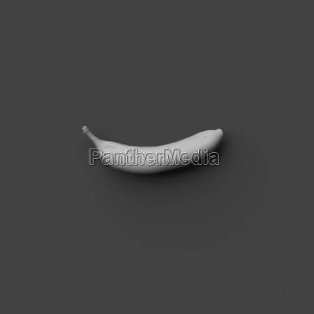 3d rendering of a banana