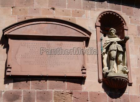 in the castle heidelberg