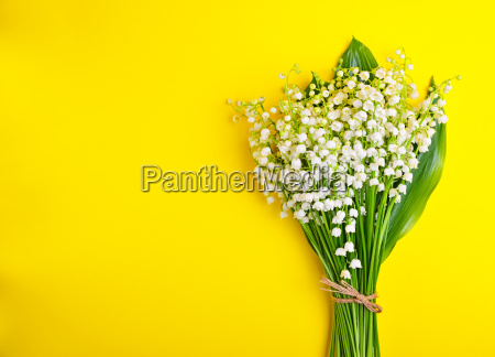 bouquet of white lilies of the