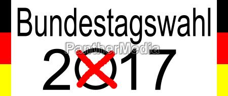 elecciones en alemania 2017 sobre fondo