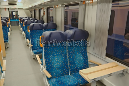 passenger train interior