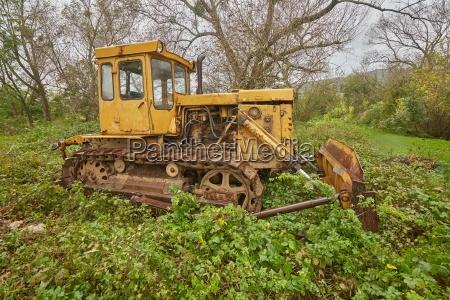 old excavator parts