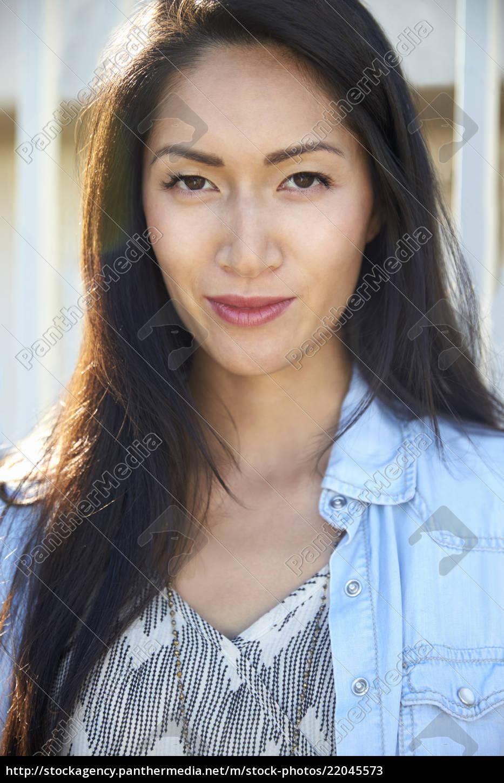 Mixed asian women
