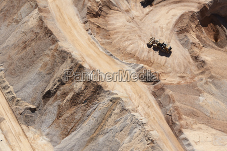 usa texas aerial view of sand
