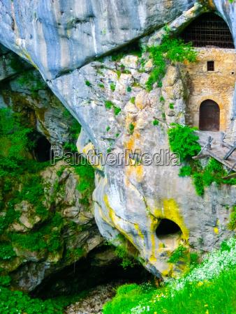 postojna slovenia view of the