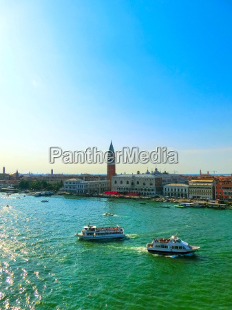 beautiful view from grand canal on