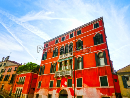venice italy the old house
