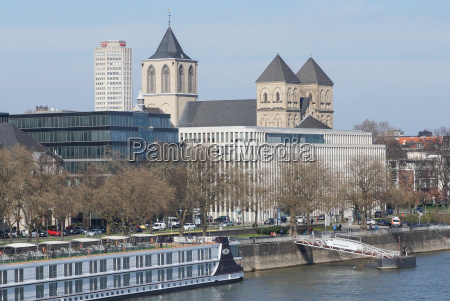 st kunibert church cologne germany