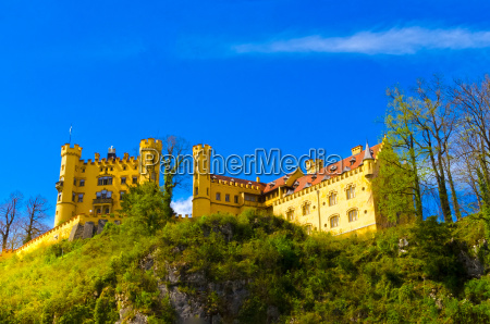 hohenschwangau castle bavaria germany