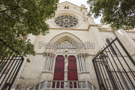 church in montpellier southern france